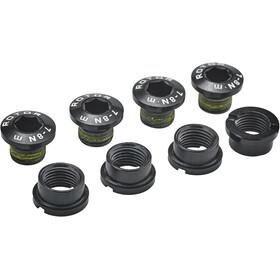Rotor MTB XC2 SRAM XX Tornillos Plato Cadena 4 tornillos / 4 tuercas, black